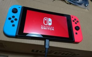 Nintendo Switchの初回設定
